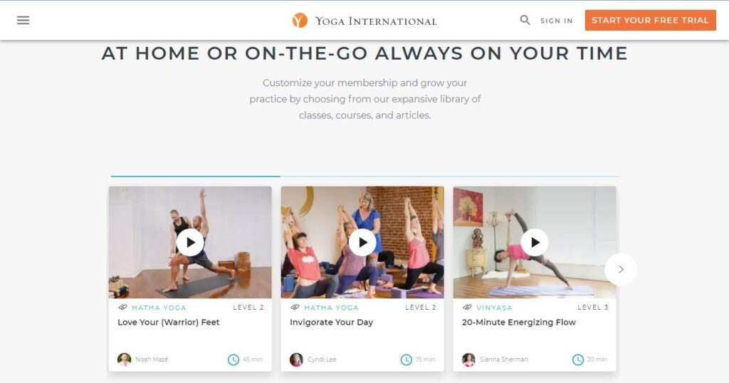 7 Best Online Yoga Classes, You Must Checkout in 2021