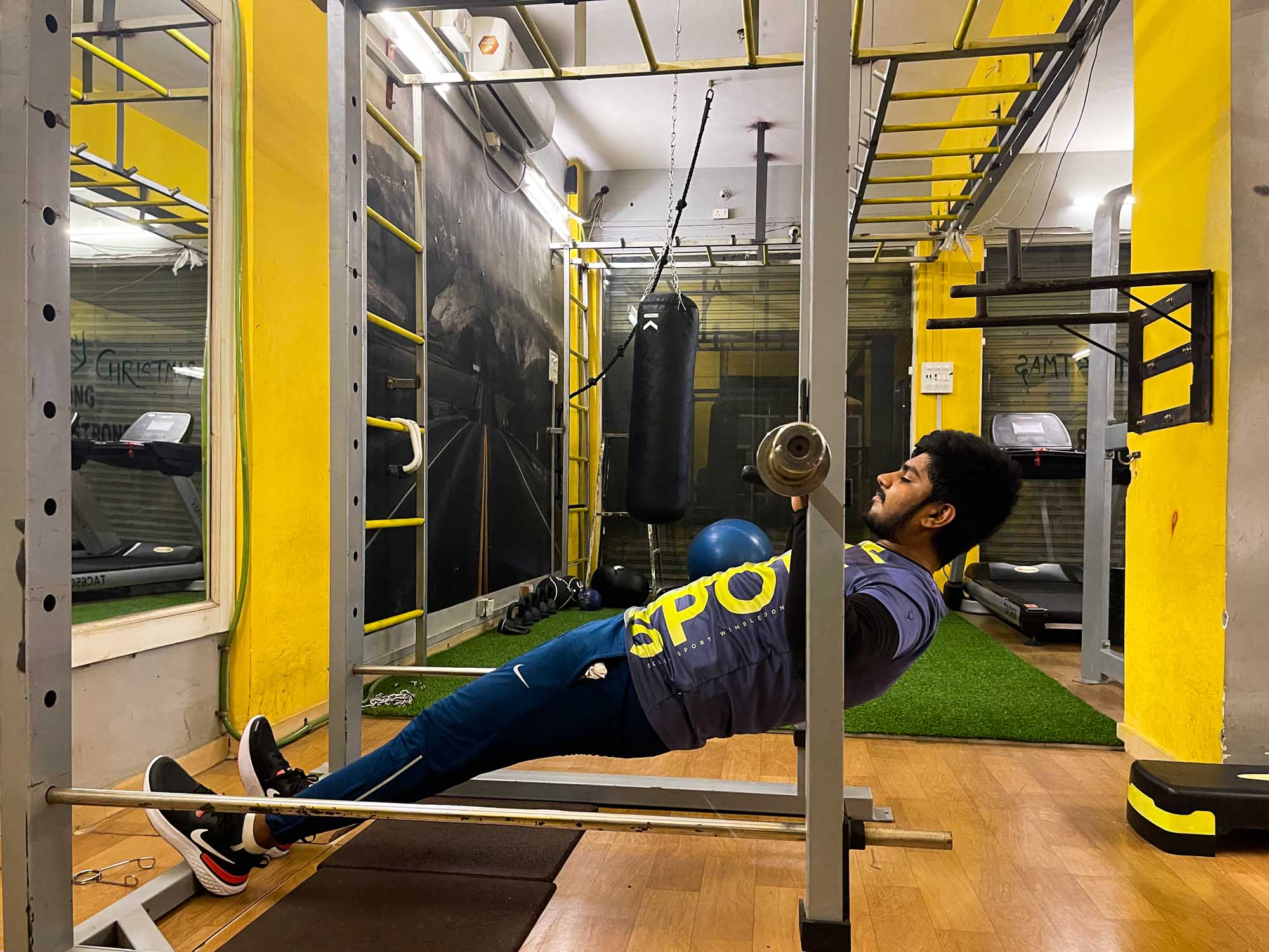 Inverted Rows, possible pull up alternative