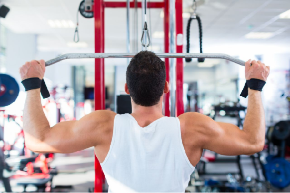Wide Grip Lat Pull Down, a great pull up alternative