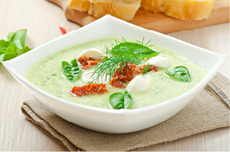 cold cucumber soup- Tasty cucumber snacks